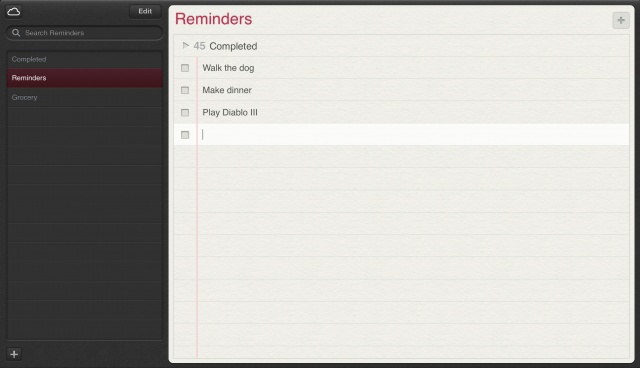 Walkthrough Of Apple's New Notes, Reminders And Find My iPhone Web Apps From The iCloud Beta