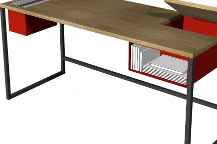 DWR's Live/Work Contest の優勝作品「Innermix Desk」