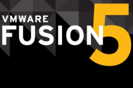 VMware Fusion 5 が出たよ!