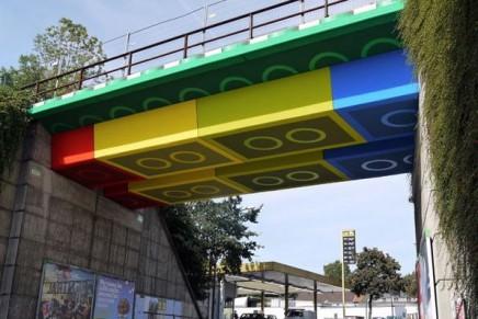 レゴで出来た橋