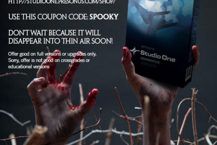 軽量高性能なDAW「Studio One 2」が本日限定の恐怖の半額セール!
