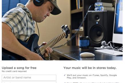 オンラインストアに簡単・安価にオリジナル曲を登録できる「DistroKid」を使ってみた [登録編]